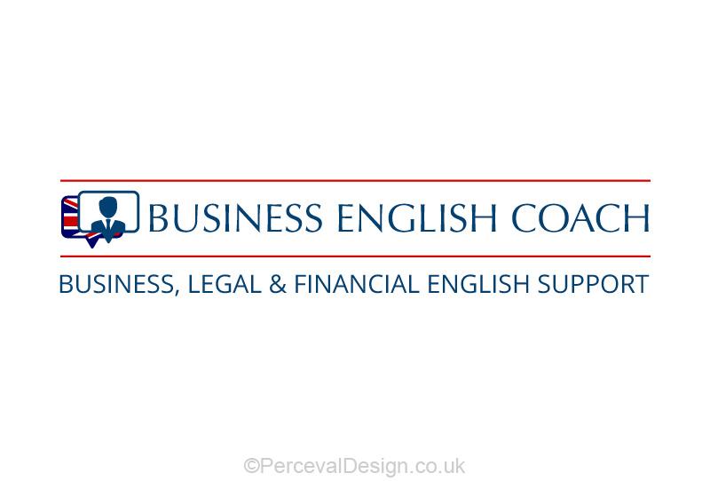 Logo design for Business English coach