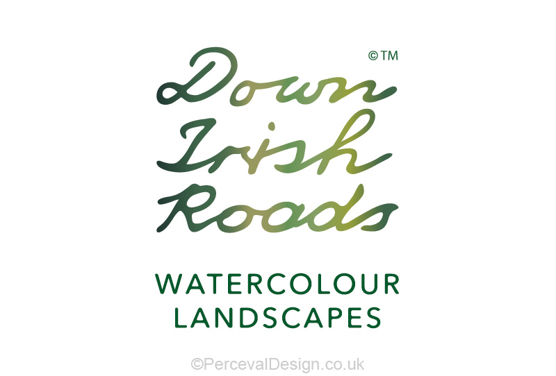 Logo design for Down Irish Roads