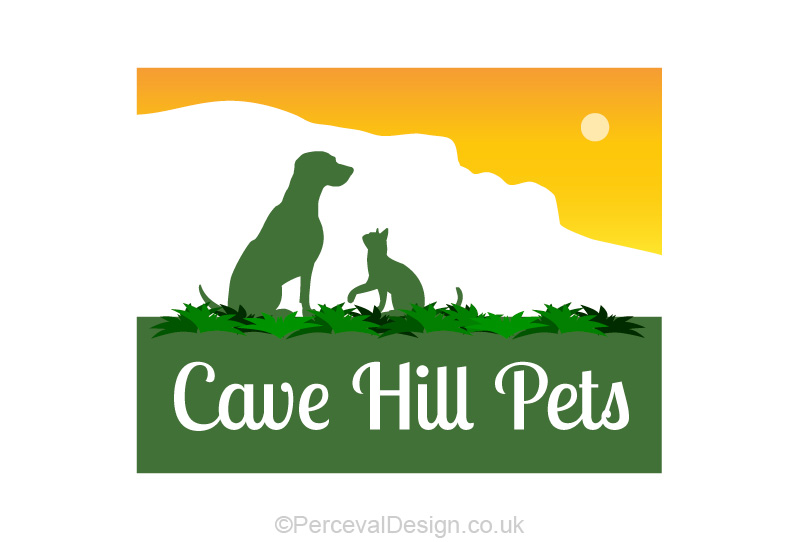 Logo design for cave hill pets