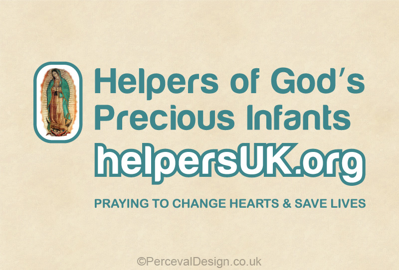 Helpers of God Precious Infants UK Logo