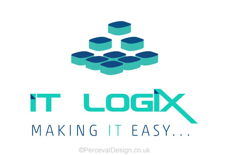 Logo design for IT Logix, IT consultant