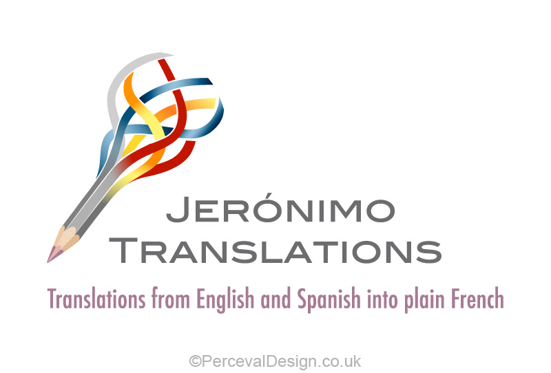Logo for Jeronimo Translations, english translation service
