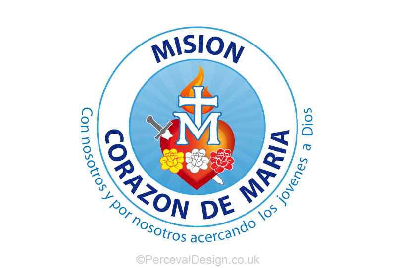 Logo for Mision corazon de maria