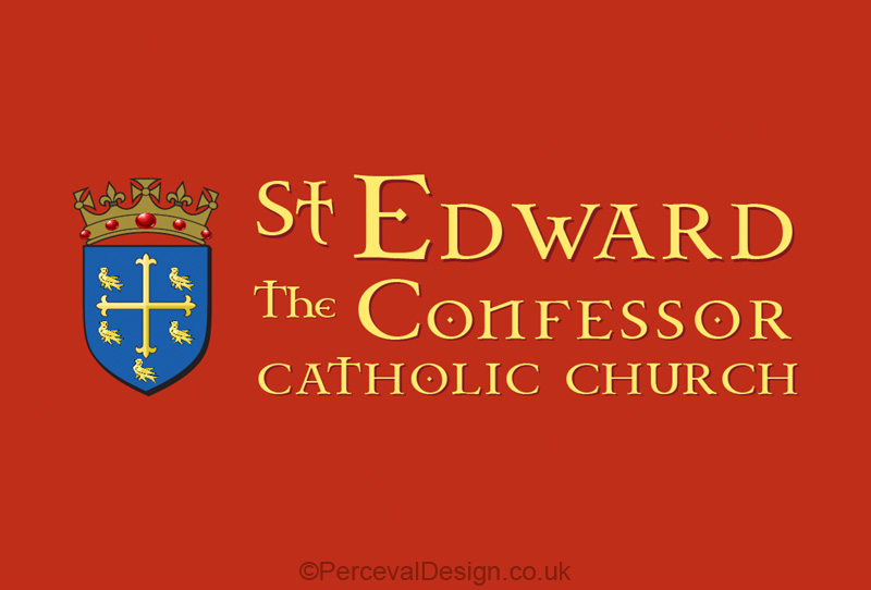 Logo St Edward the confessor, in London Golders Green