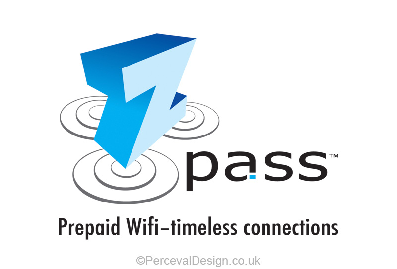 Logo for Z pass, prepaid wifi service